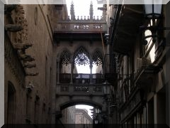 Barri Gotic - Gotisches Viertel in Barcelona