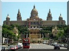 Palau Nacional - der Nationapalast in Barcelona