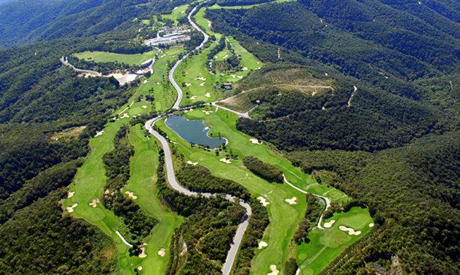 Golfplätze in der Nähe von Lloret de Mar, Costa Brava